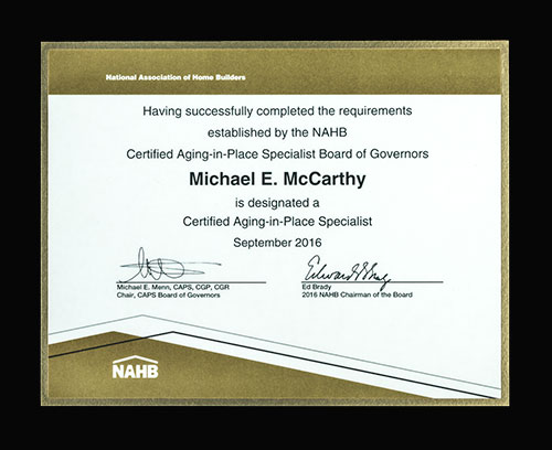 Northern_Virginia_Aging_In_Place_Mike_Certification